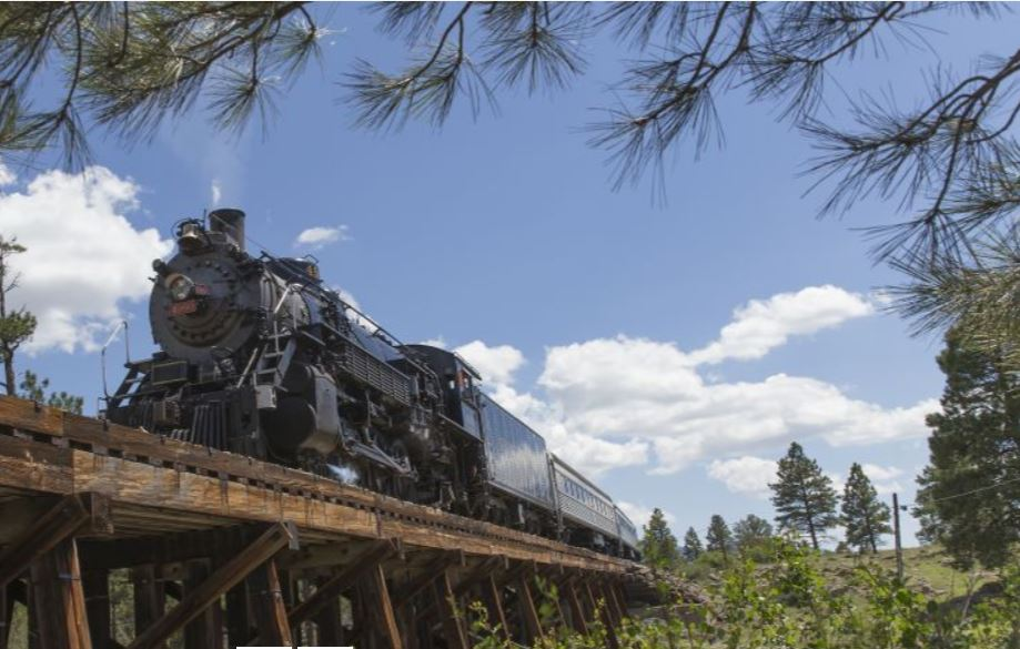 Grand Canyon Railway Train, Best way to see the National Park!
