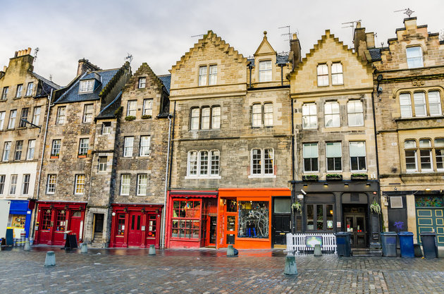 Grassmarket - Things to do in Scotland with Kids Photo by Outside Suburbia