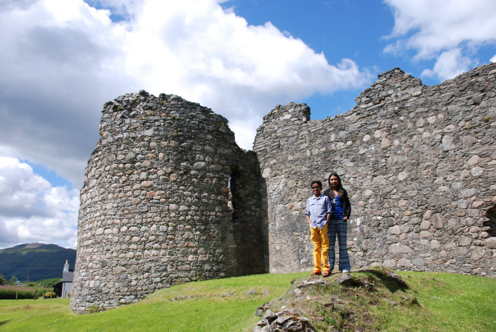 Old Inverlochy Castle, Fort William Photo by Outside Suburbia