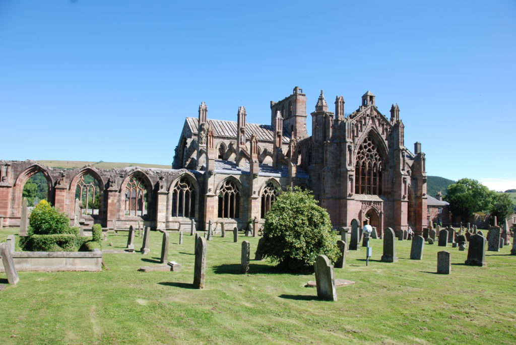 Melrose Abbey. Things to do in Scotland - Photo by Outside Suburbia