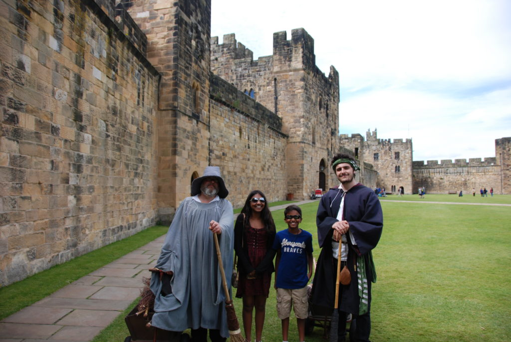 Harry Potter Alnwick Castle Photo by Outside Suburbia