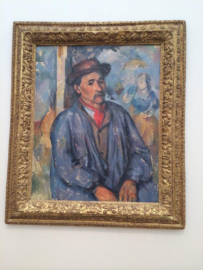 Paul Cezanne - Man in Blue Smock