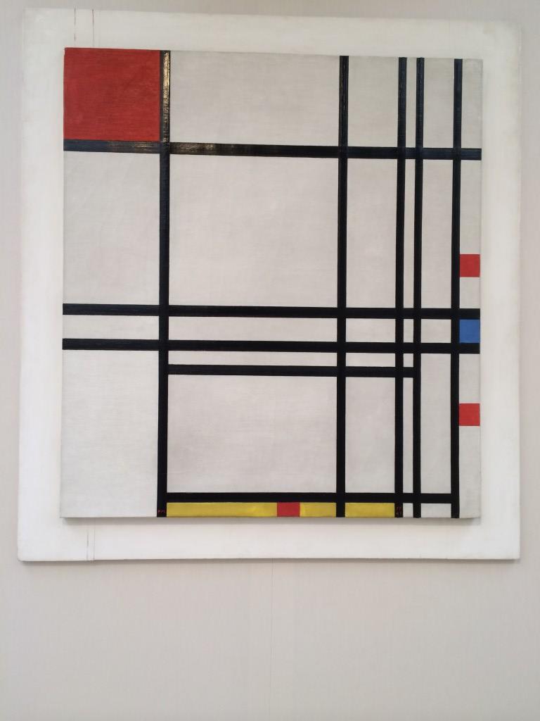 Mondrian 1 - Piet Mondrian - Abstraction
