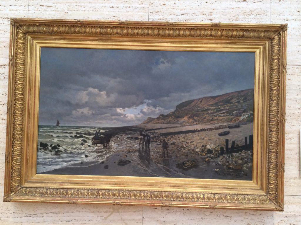 Claude Monet - La pointe de la Heve at Low tide