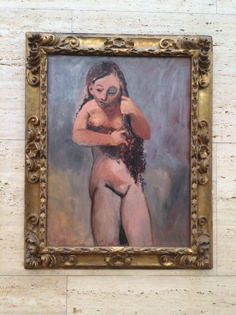 Picasso's Venus Rising