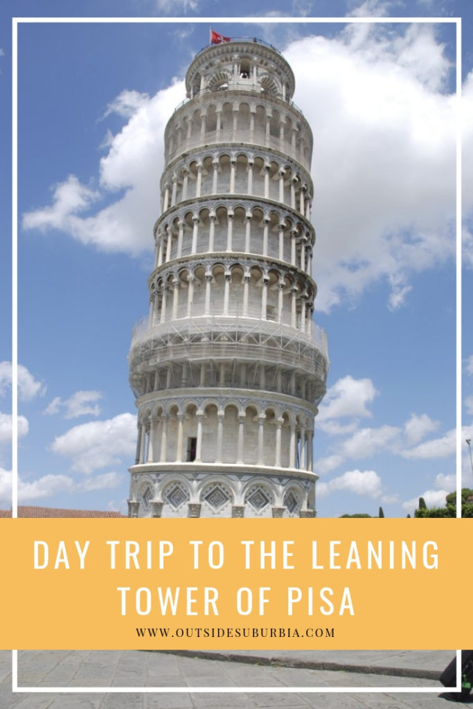 A Day trip to Pisa and some silly shots with the Leaning Tower | Outside Suburbia