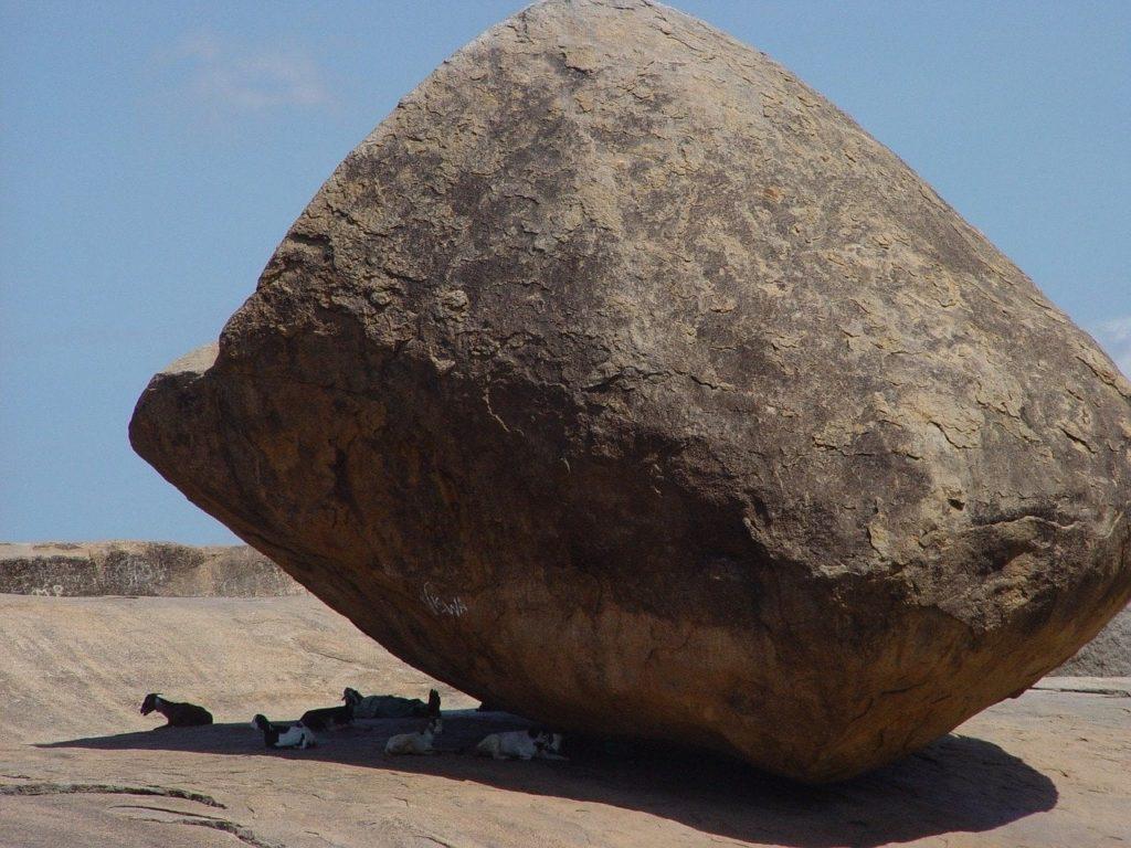 Krishna's Butterball rock - Mahabalipuram - Outside Suburbia