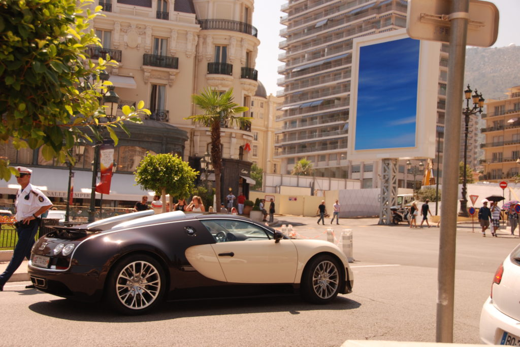 Bugatti spotting at Monte Carlo, Monaco