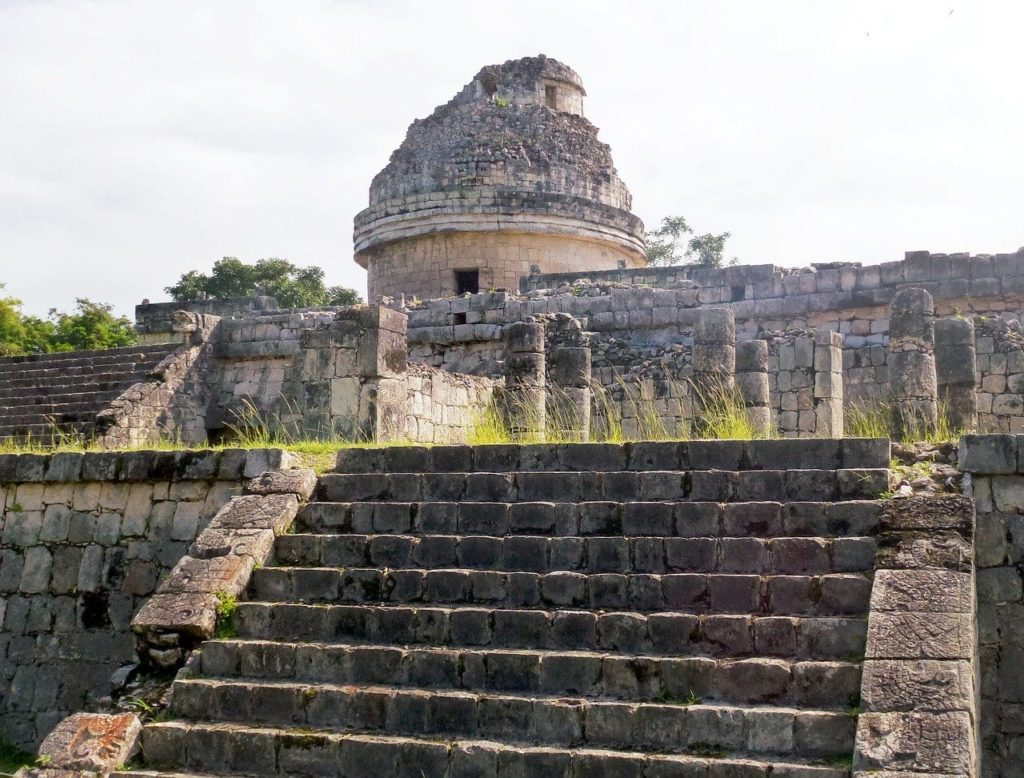 El Caracol, the Observatory at the Chichen Itza