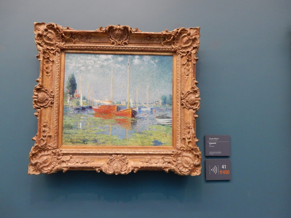 Monet at Musee de l'Orangerie