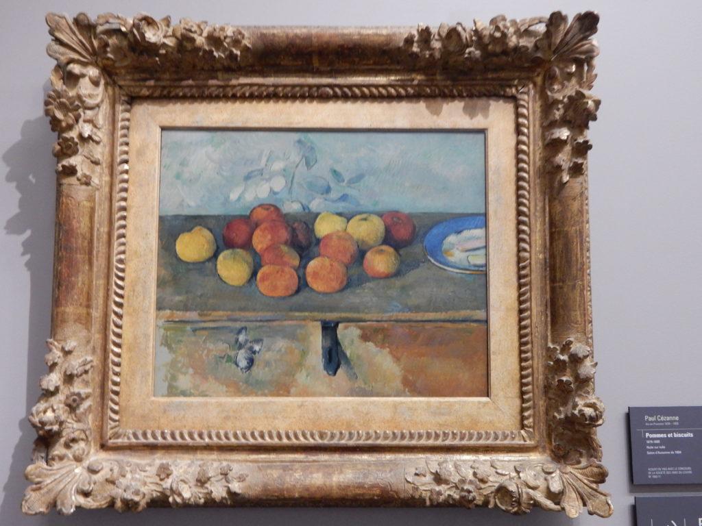 Paul Cezanne at Musee de l'Orangerie