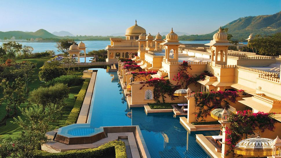 Top Luxury Resorts in India -Oberoi Udaivilas in Udaipur