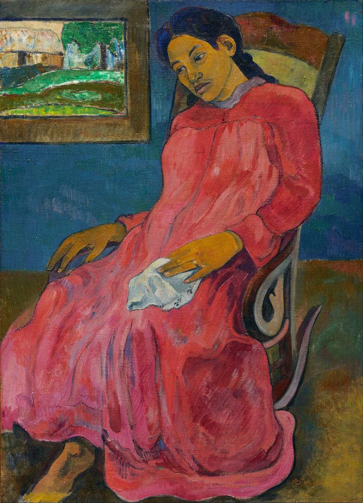 Paul Gauguin  - Faaturuma Melancholic