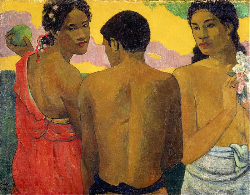 Three Tahitians - Paul Gauguin