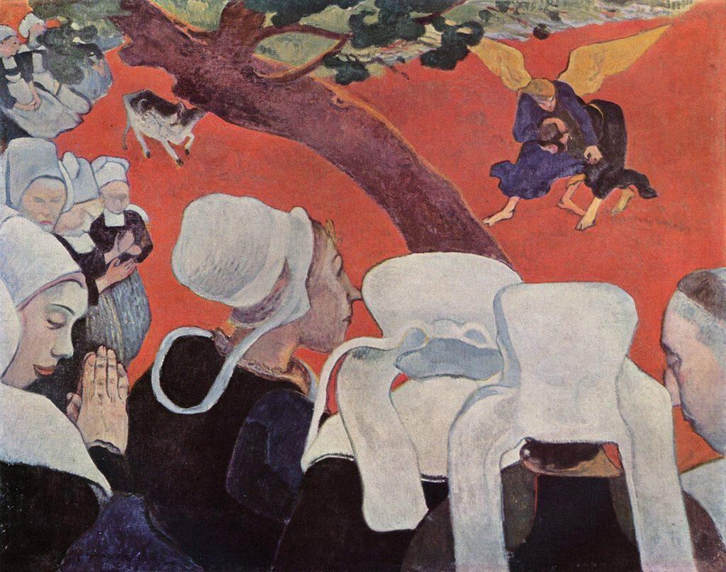 Gauguin_visionAfterSermon