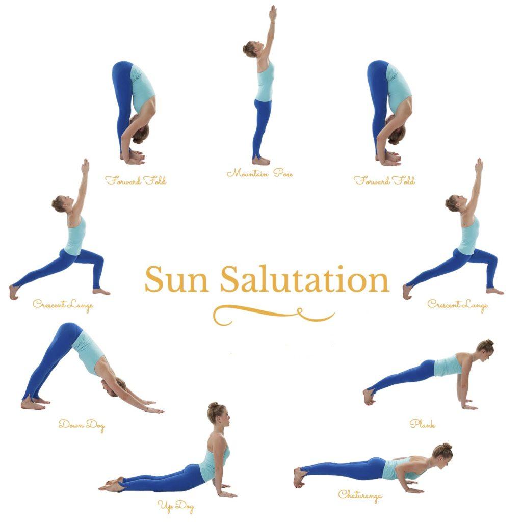 Sun salutation - Starting the day with Yoga - outsidesuburbia.com