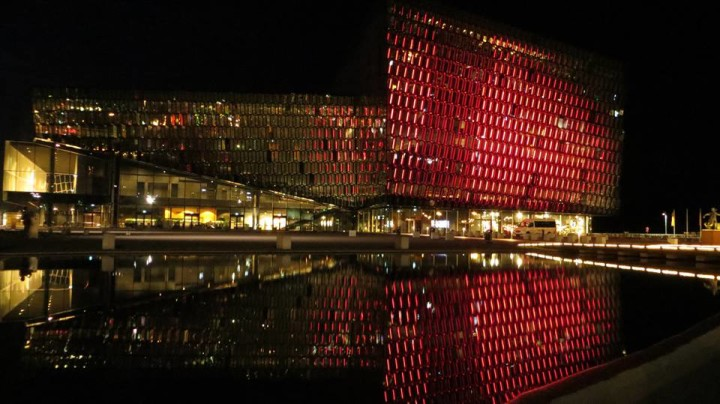 Make a trip to the waterfront at night to watch the light show at the Harpa