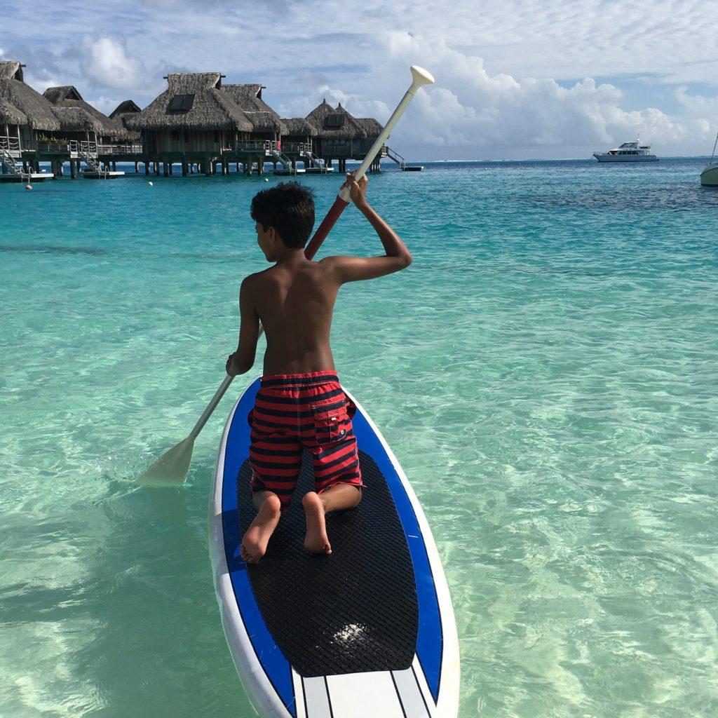Paddleboarding in Paradise | Outside Suburbia