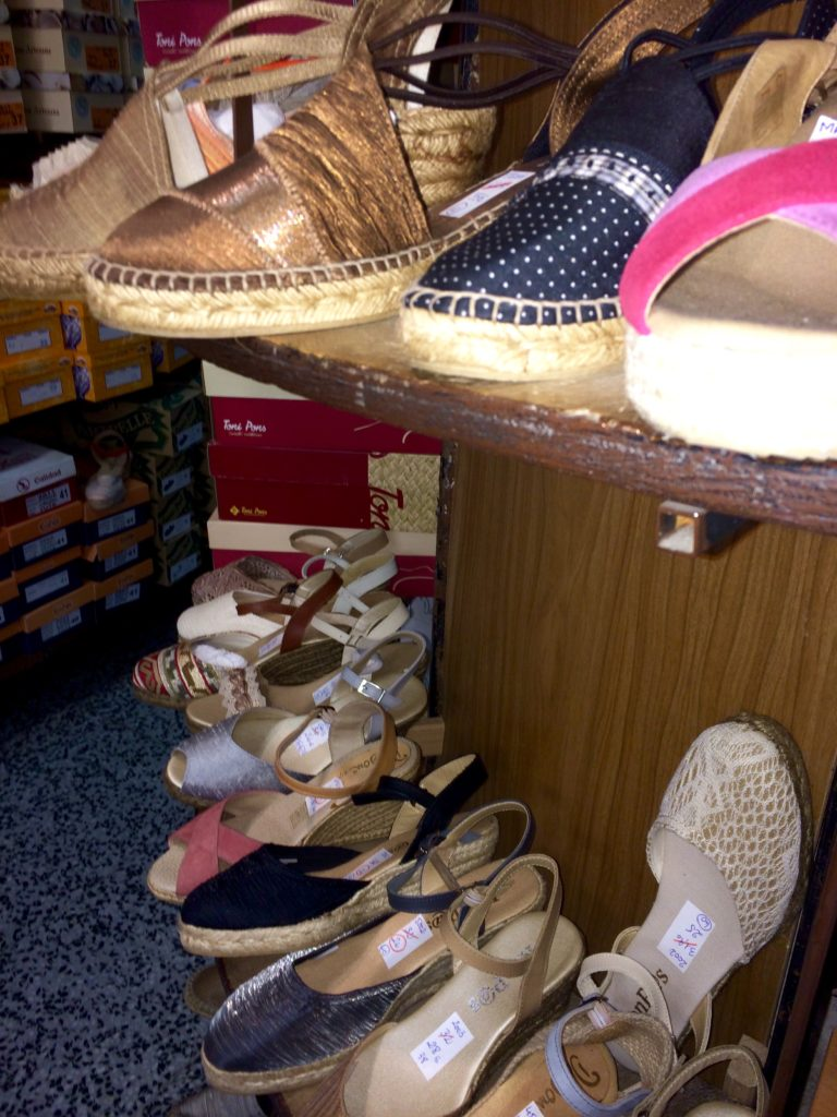 Espadrilles from Barcelona - Souvenir Shopping Tips: Learn to look beyond the magnets and trinkets - outsidesuburbia.com