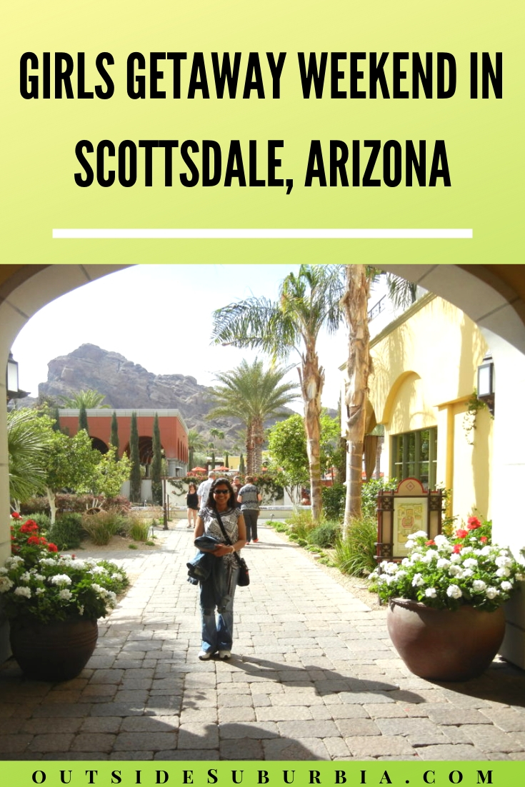Omni Scottsdale Resort and Spa at Montelucia located in the exclusive Paradise Valley area, was the perfect spot for a Girls Getaway Weekend in Scottsdale. #OutsideSuburbia #OmniResortScottsdale #GirlsGetawayWeekendInScottsdale #ScottsdaleResorts