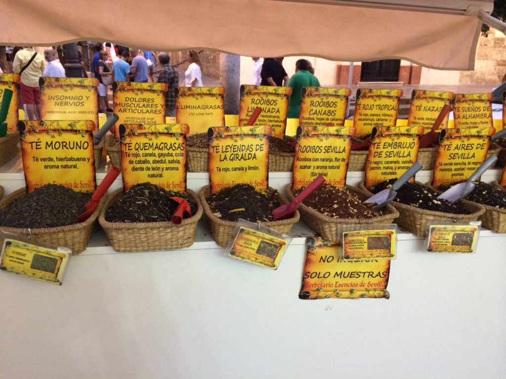 Spices from Seville, Spain - Souvenir Shopping Tips: Learn to look beyond the magnets and trinkets - outsidesuburbia.com