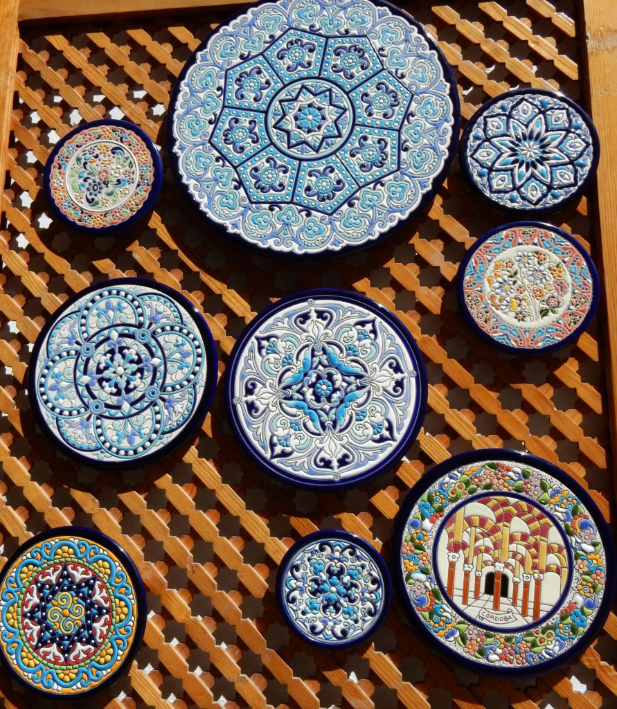 Title plates from Cordoba - Tips for buying better Souvenirs when Traveling