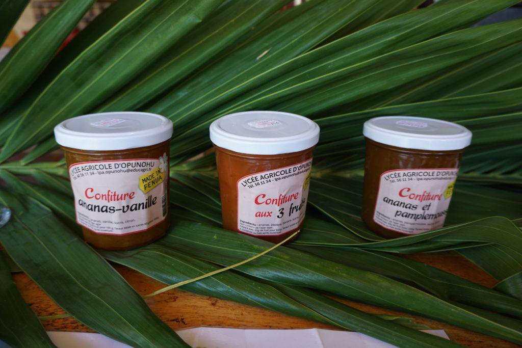 Pineapple, Papaya and banana mixed Jam from Moorea