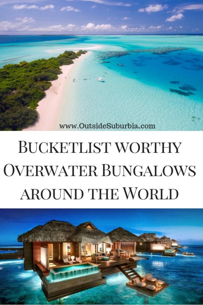 Overwater villas around the world #Overwatervilla