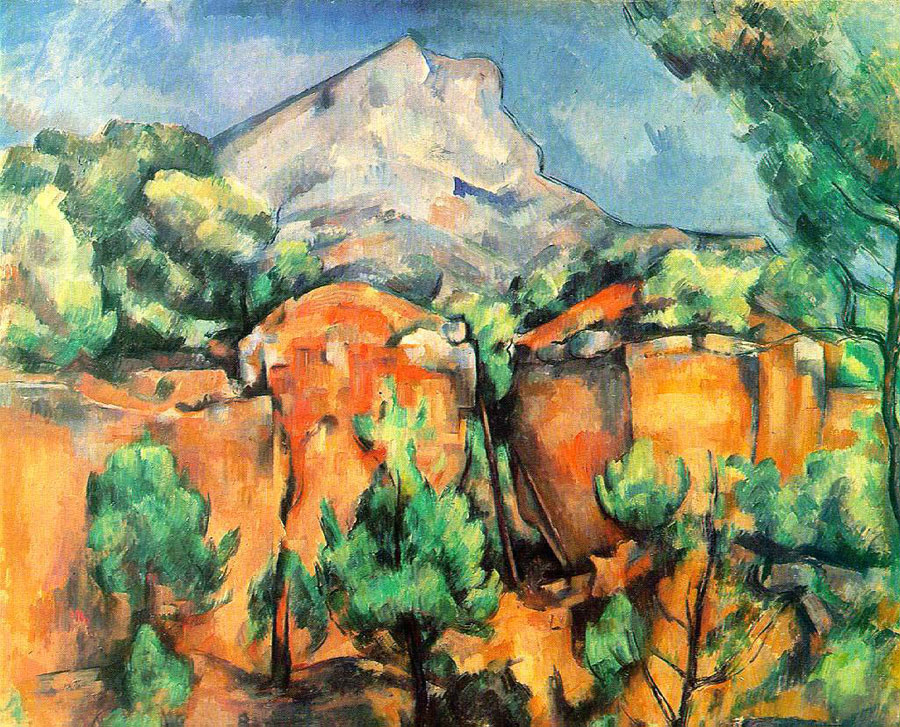 Paul Cezanne painted the Sainte-Victoire mountain over 60 times