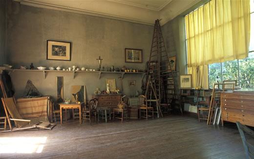 Cézanne atelier