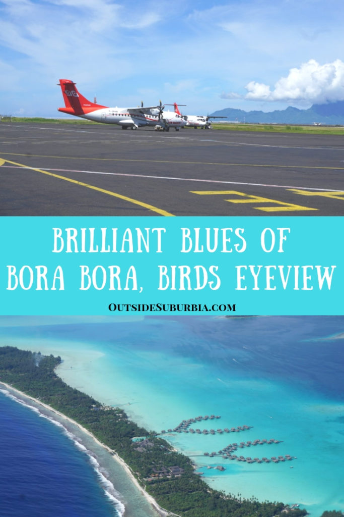 Bora Bora is like walking into a blue rainbow, it is a Postcard perfect destination and is even more gorgeous from the plane.See these aerial photos and you will understand what I mean #BoraBora #AerialPhotos #AirTahiti