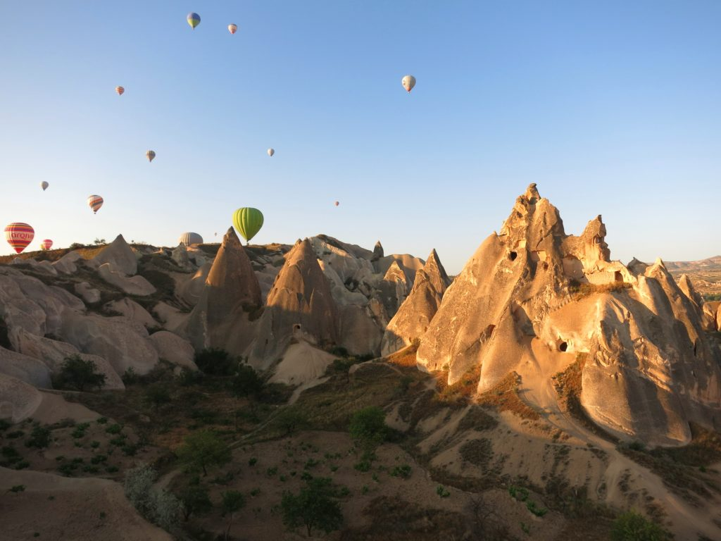 OutsideSuburbia Hot air balloon rides - Turkey