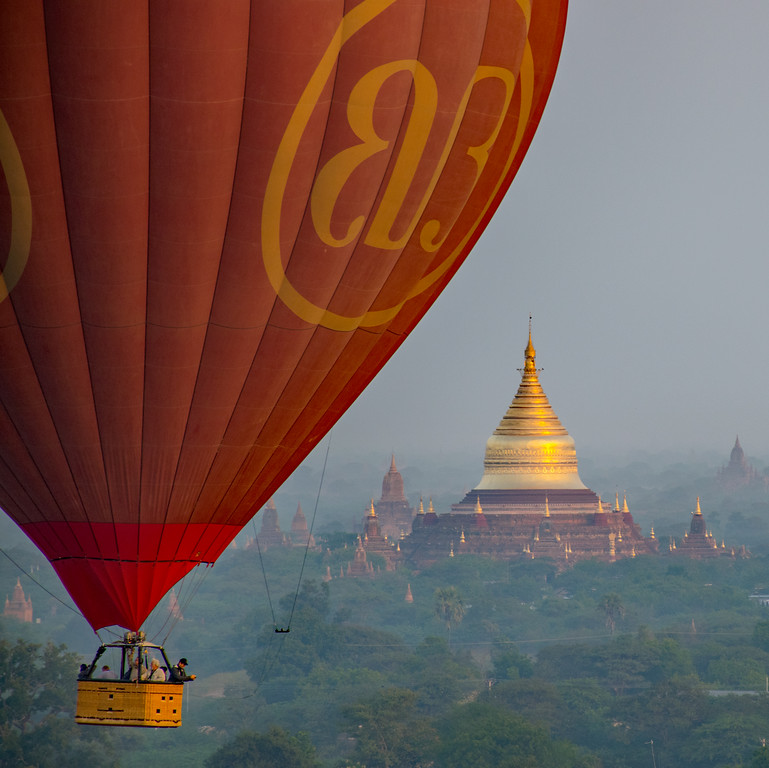 OutsideSuburbia Epic Hot air balloon rides - Bagan
