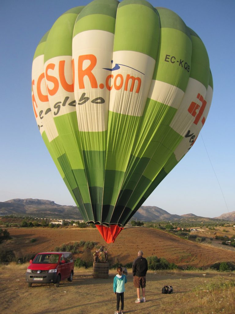 OutsideSuburbia Hot air balloon rides - Ronda