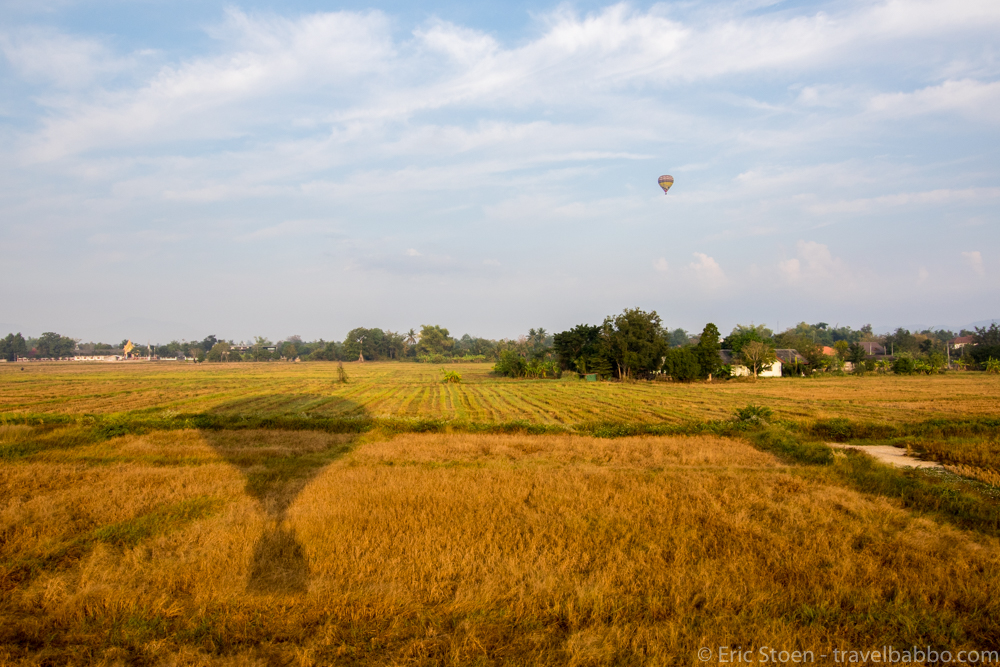 OutsideSuburbia Hot air balloon rides - Chiang Mai
