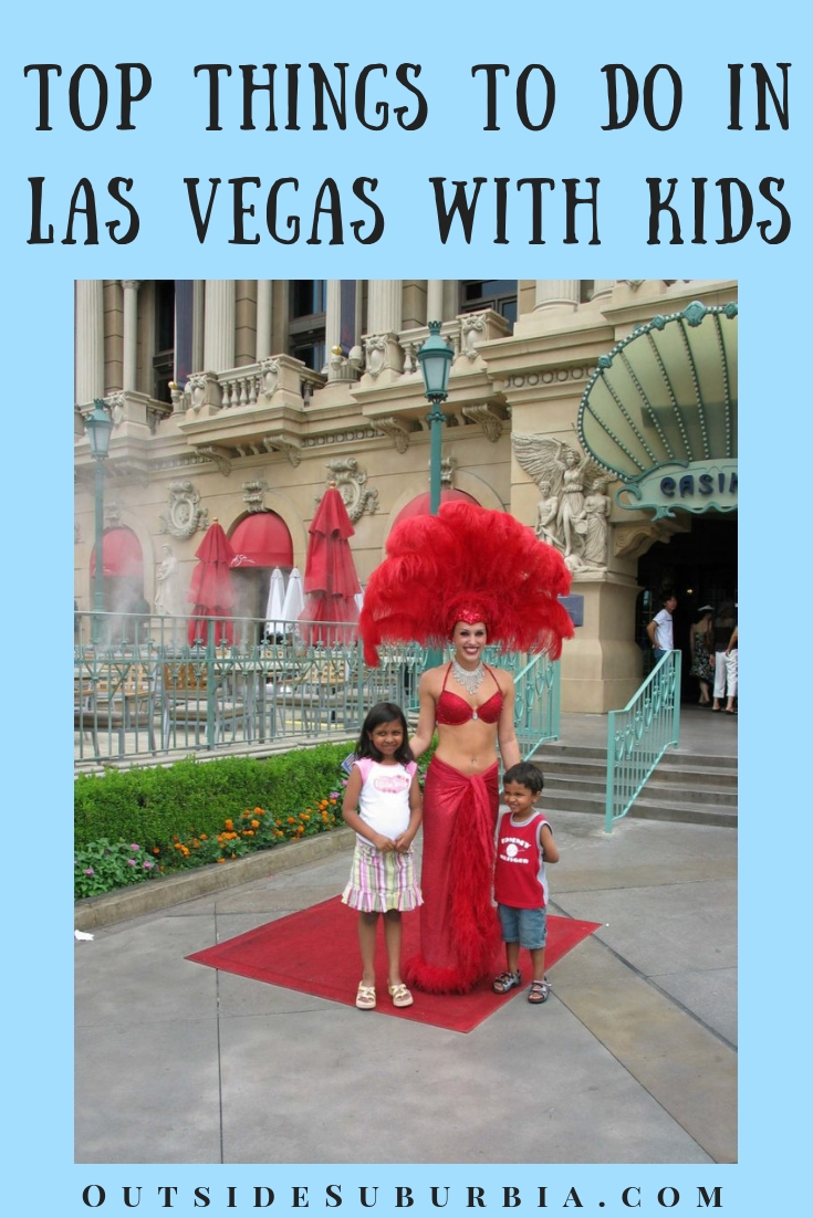 Although you might have to look beyond the slots machines and neon lights to find things to do in Vegas with kids - there are quiet a few. See this list #VegasWithKids #LasVegasThingsTodo #OutsideSuburbia #VegasBucketlist