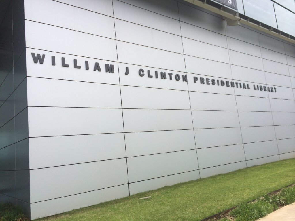 Photo diary : A visit to the Clinton Presidential Library