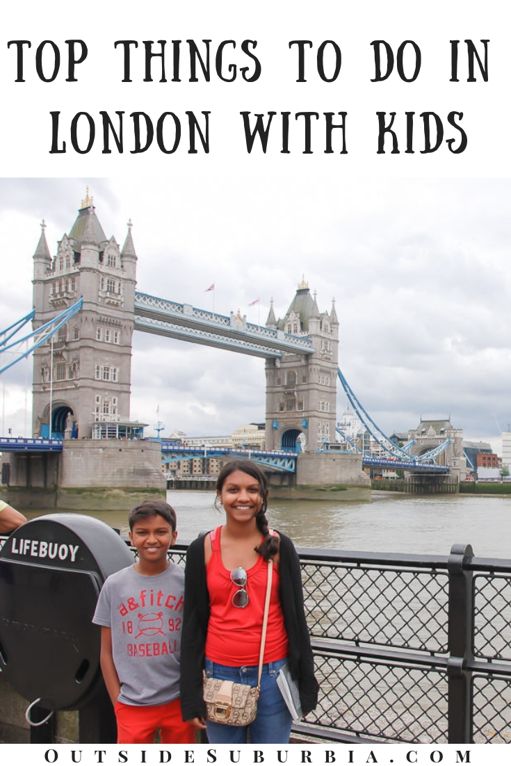First timers Guide to London to help you plan your family's trip to London. Lots of must dos and kid friendly tours and activities here #outsideSuburbia #LondonWithKids #LondonAttractions #LondonBucketList #ThingstodoInLondon