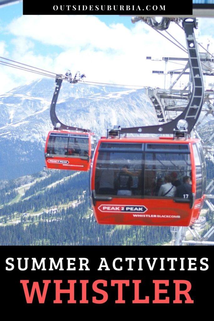 Best Whistler Summer Activities: Canoeing, Hiking & Horseback riding | Outside Suburbia
