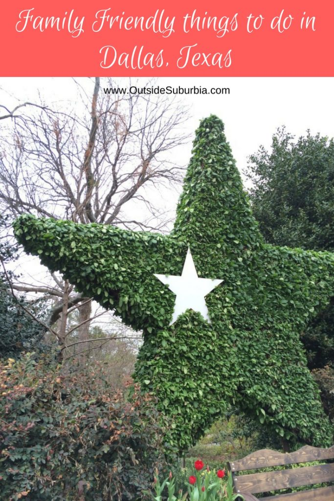 There is more to Dallas than Cowboys and Rodeos... Here are 10 Family Friendly things to do in Dallas from someone who has lived in the area for over 15 years, and watched the wonderfultransformations happening around the Dallas and the suburbs. #DallasThingsTodo #OutsideSuburbia #ThingsTodoDallas #DallasTexas #DallasWithKids