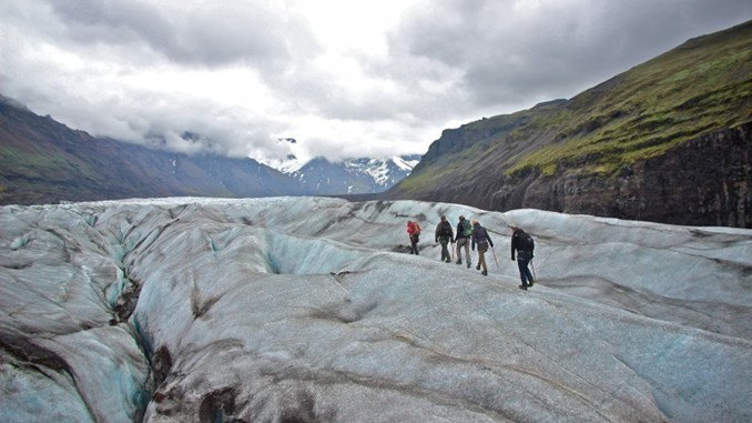 Glacier Walk in Iceland - Iceland Itinerary for seeing the best of the island in a week - OutsideSuburbia.com