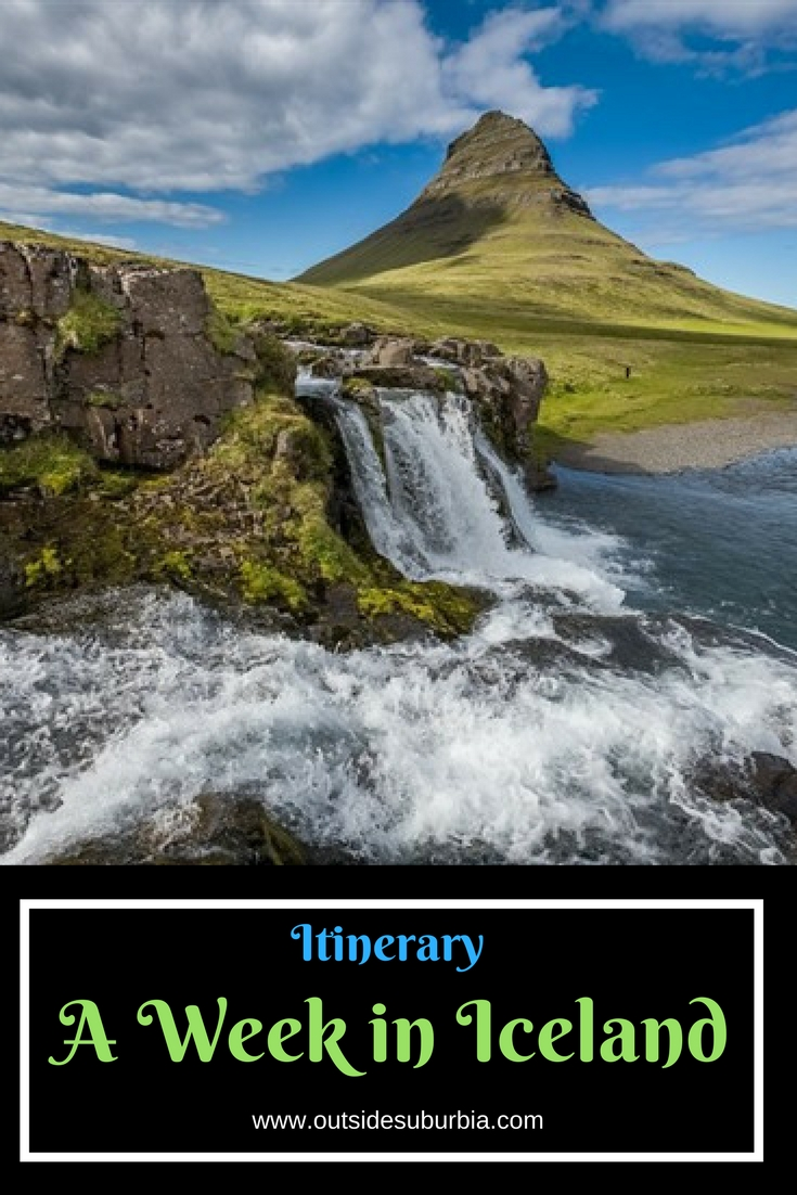 A tightly packed trip of chasing waterfalls, snowmobile rides and glacier walks - Itinerary for seeing the best of Iceland in a Week #IcelandItinerary
