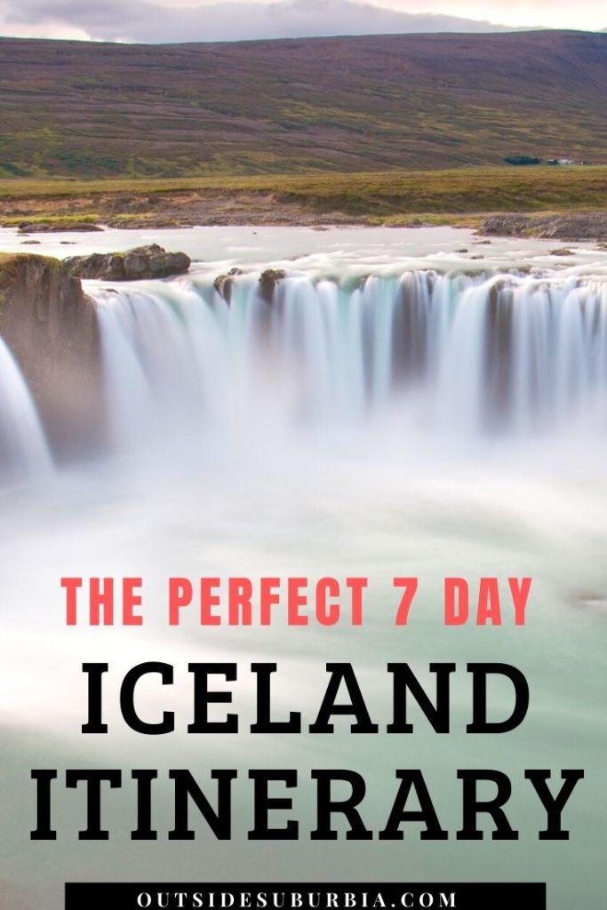 Iceland Itinerary for seeing the best of the island in a week | Outside Suburbia