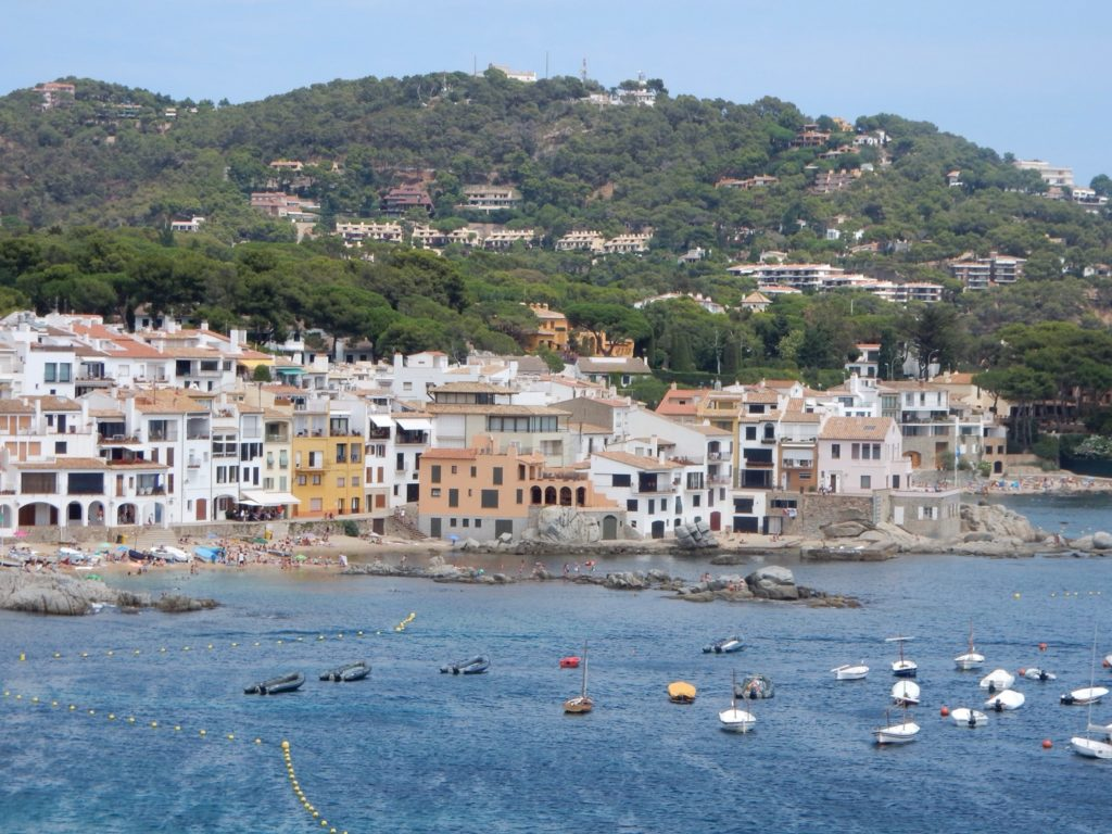 Spanish Riviera : An afternoon in Palafrugell Day trips from Barcelona. Calella de Palafrugell. Photo by Outside Suburbia