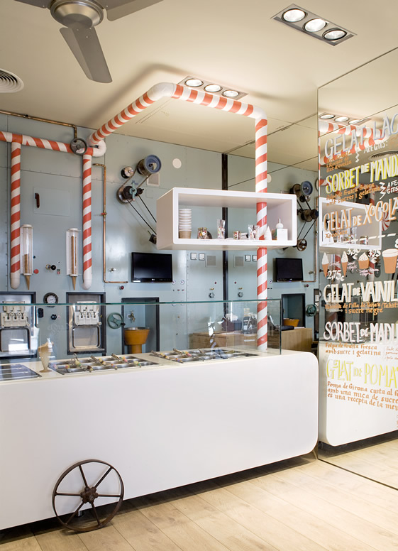 Rocambolesc Gelateria in Girona, Spain | Outside Suburbia
