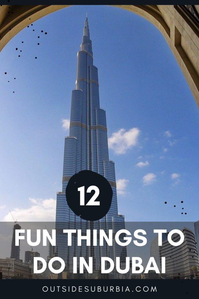 12 Fun things to do in Dubai | Outside Suburbia