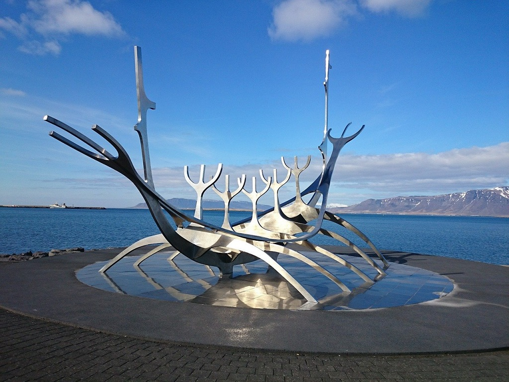 Solfar Sunvoyager sculpture in Reykjavik | BEST 7 Day Itinerary | Outside Suburbia
