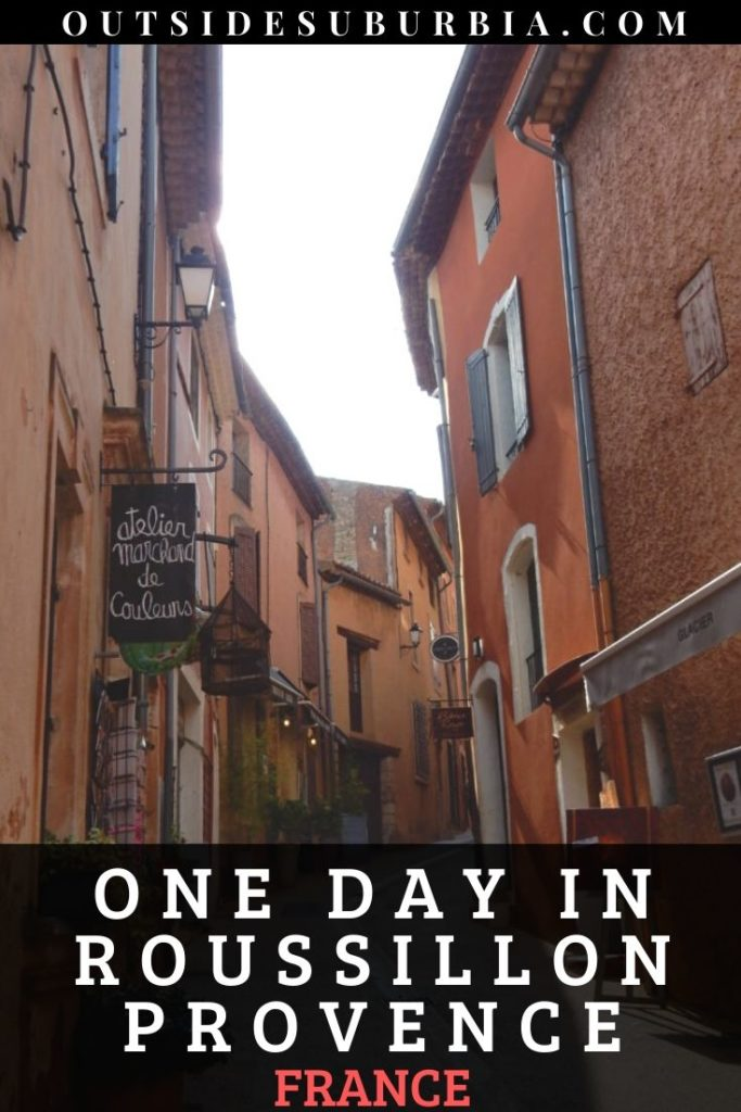 A day in the ochre-red village of Roussillon en Provence | Outside Suburbia