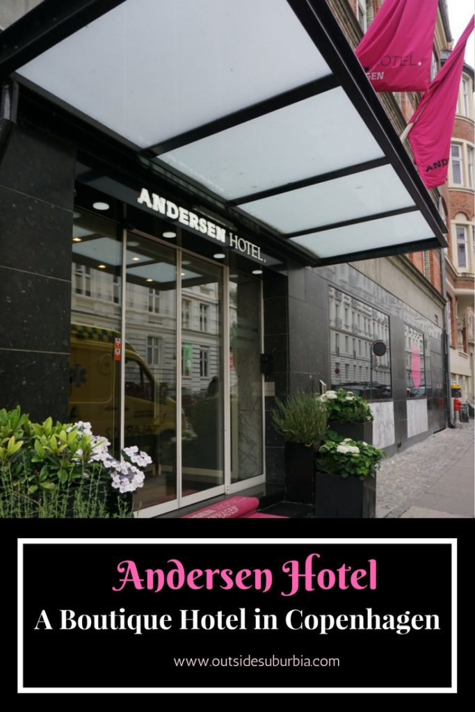 Andersen a boutique hotel in copenhagen outside suburbia for Andersen boutique hotel copenhagen