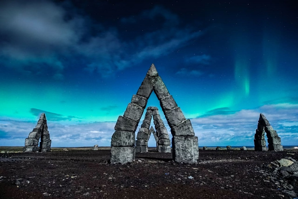 Arctic Henge in North Iceland, Arctic Coast Way Route | Outside Suburbia